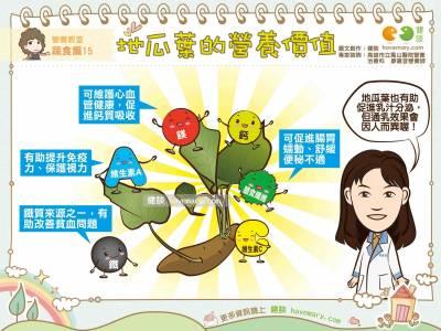 地瓜葉的營養價值 營養教室 蔬食篇15