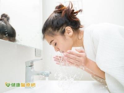 潔肌5方法 微涼水才能洗出好臉色