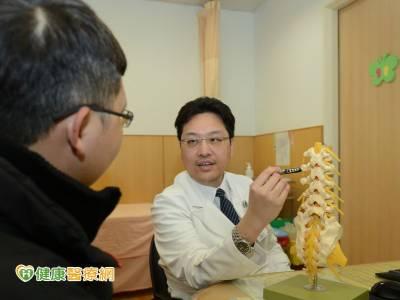 脊椎復位減壓內固定手術 救回癱瘓雙腳