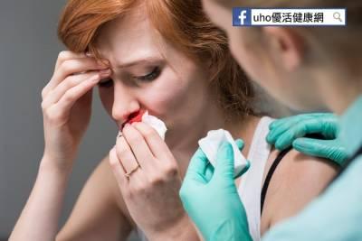 鼻血流1周 2顆鼻咽癌未爆彈害的