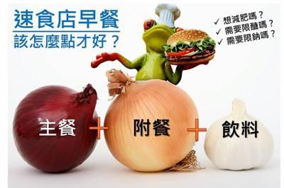 想減肥 管理健康嗎?麥當勞早餐該怎麼吃才對?
