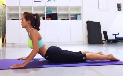 真的沒懷孕,不要再讓座了!快學小嫻 名模Akemi的「瘦小腹密技」!飲食 按摩 運動怎麼做?一次大公開~