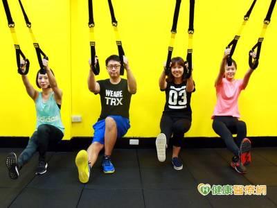 TRX運動好夯 這樣做才能增肌減脂