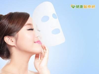 面膜過度使用 恐造成接觸性皮膚炎