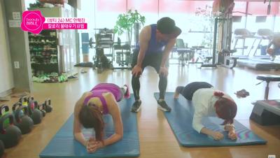 最難瘦的腰間肉 掰掰袖這樣練!韓國模特兒韓惠珍泳裝拍攝前的7項特訓