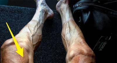 環法車手再飆破極限的3516公里後,「雙腿炸裂」小腿青筋迸出,沒想大腿以上根本是超人類進化筋肉人?!