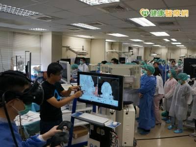 虛擬實境精準醫學 北榮導入VR手術訓練