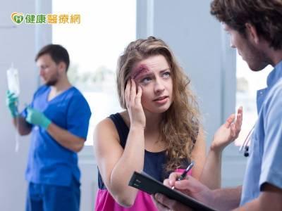 頭部外傷突昏迷 慎防延遲性顱內出血