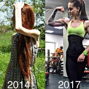 從厭食症到健美教練,這個漂亮妹子三年的時間,經歷了兩種世界...