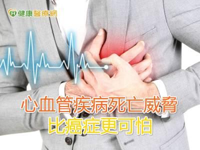 心血管疾病死亡威脅 比癌症更可怕