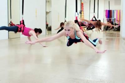 彈跳繩結合瑜伽 「三度空間健身法」超有趣