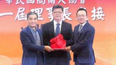 接任高球協會新理事長 王政松捐5千萬元