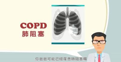 咳嗽有痰 走路會喘?小心!是肺阻塞前兆!