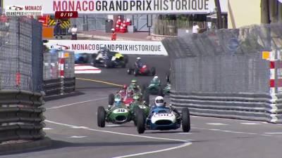 復古老爺車跑得快 摩納哥賽道飆破百公里