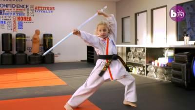 9歲世界武術冠軍!可望成女版李小龍