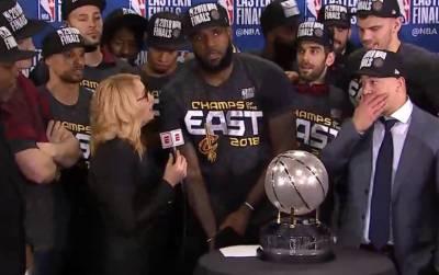 NBA快訊/詹皇飆35分逆轉綠衫軍 率騎士隊87:79奪東區冠軍
