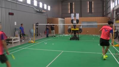 永遠不累陪練員!台灣參與研發「高科技發球機」