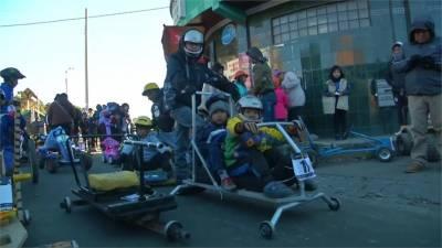 親子卡丁車大賽 海拔3700公尺大挑戰