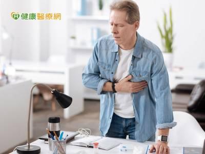 冒冷汗 胸悶 喘不停 恐急性心肌梗塞