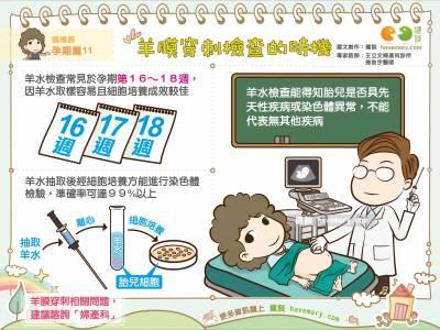 羊膜穿刺檢查的時機|媽媽族 孕期篇11