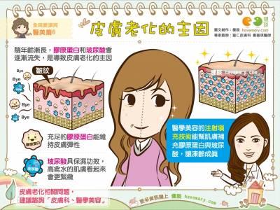 皮膚老化的主因|全民愛漂亮 醫美篇6