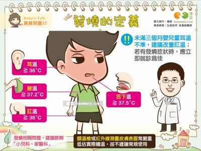 發燒的定義|Baby's talk 寶寶照護22