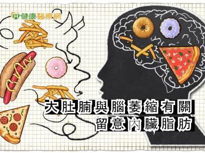 大肚腩與腦萎縮有關 留意內臟脂肪