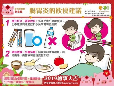 腸胃炎的飲食建議