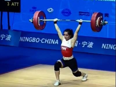 郭婞淳亞錦賽三破世界紀錄 三金到手