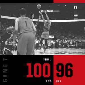 (影)NBA/暴龍擊敗七六人 將與公鹿爭奪決賽資格