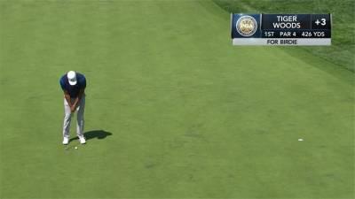 PGA錦標賽首日 伍茲第51名 潘政琮144名