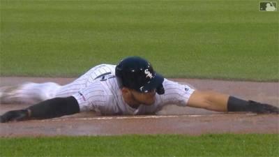 MLB/享受雨神來報到 白襪桑切斯敲出再見安