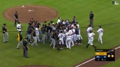 MLB/近身球引發衝突 勇士13:7海盜 拿下四連勝