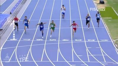 拿坡里世大運/鼠蹊部不適 楊俊瀚無緣200公尺決賽
