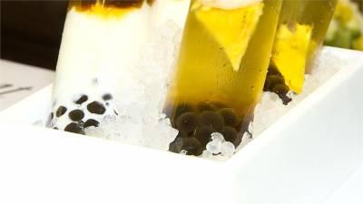 五星飯店翻玩「珍奶」 提拉米蘇 流沙包藏珍珠