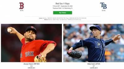 MLB/光芒拚美聯外卡 對決波士頓紅襪