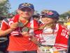 段慧琳田中馬陪跑世界三鐵冠軍伊登 代言人秒變害羞小粉絲