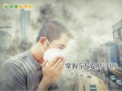 空污致癌致死率提高 保肺防護5大關鍵