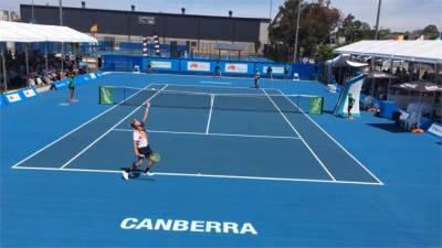 澳洲野火持續延燒 坎培拉網球賽換場地 球員拚捐款