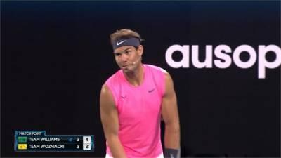網球/為澳洲野火救災募款 巨星參與慈善表演賽