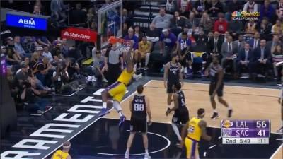 NBA/LBJ飆大三元力抗國王!Kobe逝後湖人首勝