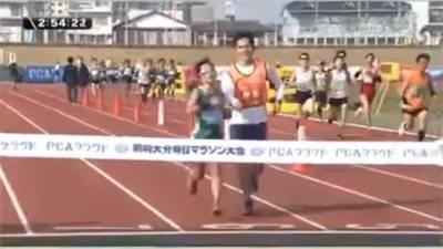 跑出光明!道下美里再創視障女子馬拉松世界紀錄