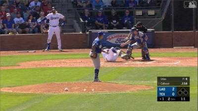 MLB/還沒開季就GG!遊騎兵新秀遭觸身球砸臉釀骨折