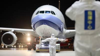 【圖輯】第2次武漢返台專機回來了 機場檢疫力求滴水不漏