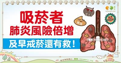 防疫期間,戒菸刻不容緩