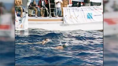 一個人運動系列回顧 敘利亞選手泳渡歐亞兩洲創世界紀錄