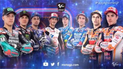 MotoGP虛擬賽第二站!Marque撞車讓Bagnaia拿下冠軍