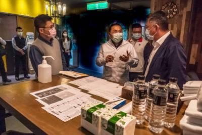 台北防疫旅館房間數近1290間 新北攜手金門打造防疫旅館聯防系統
