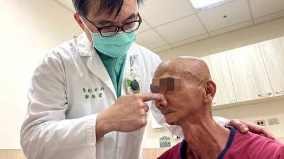 罹口腔癌削臉頰保命顏面受損 男子靠皮瓣移植找回自信