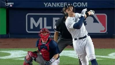 MLB/賈志連5場全壘打 洋基六連勝橫掃紅襪